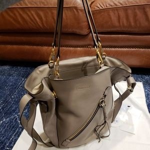 93b52ab143d Chloe Bags - Chloe Myer Medium Leather and Suede Tote